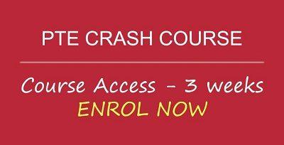 PTE Crash Course