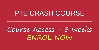 PTE Crash Course